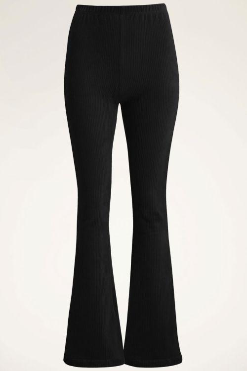 Zwarte flared pants corduroy | My Jewellery