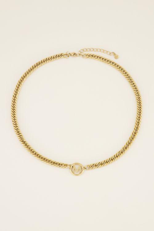 Ketting chuncky initials | Kettingen | My Jewellery