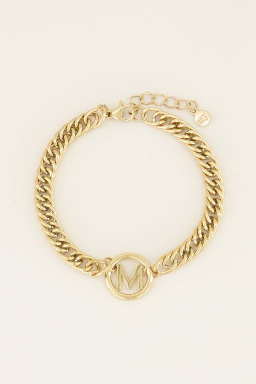 Armband chuncky initials | Armbanden | My Jewellery