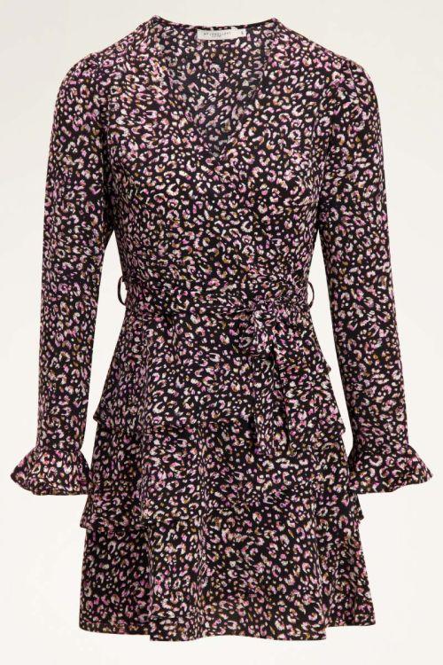 Multi-coloured patterned wrap dress | My Jewellery