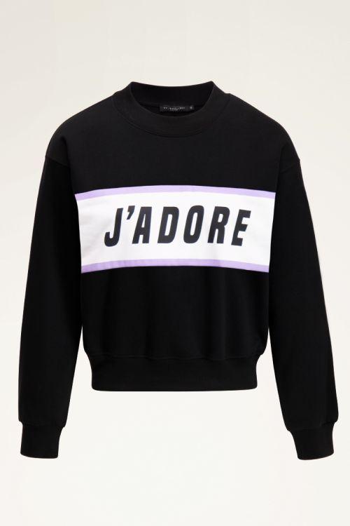 Zwarte sweater j'adore | Sweaters | My Jewellery
