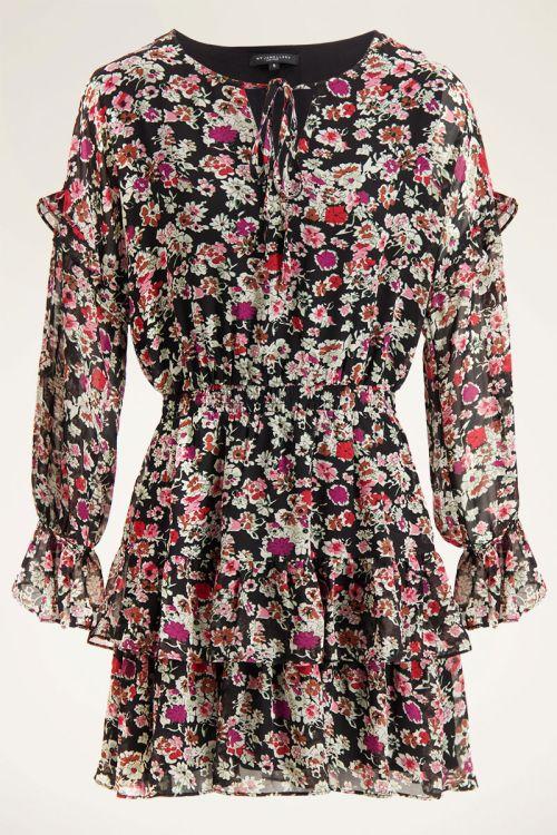 Wildflower jurk met ruffles| My Jewellery