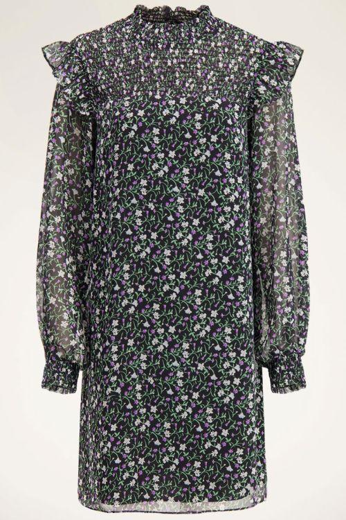Wijdvallende jurk met bloemenprint  My Jewellery