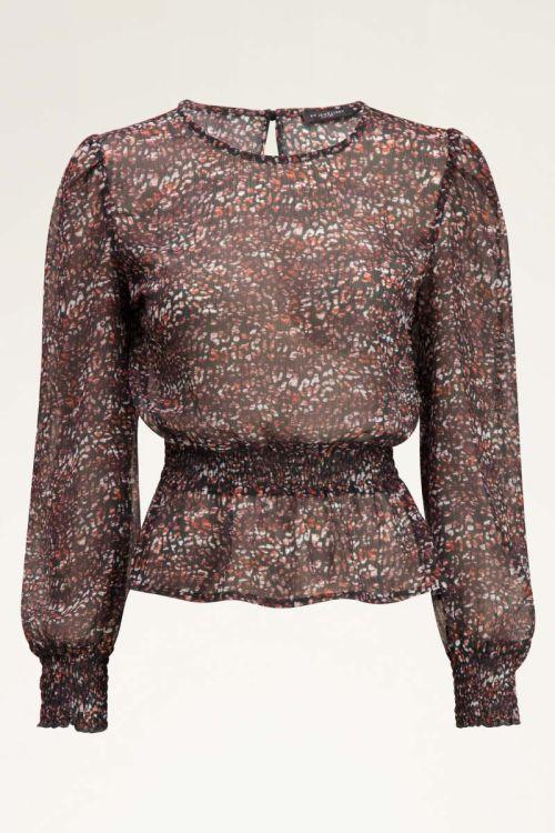 Multikleur blouse met luipaardprint | My Jewellery