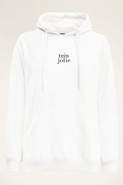 Witte hoodie très jolie   My Jewellery