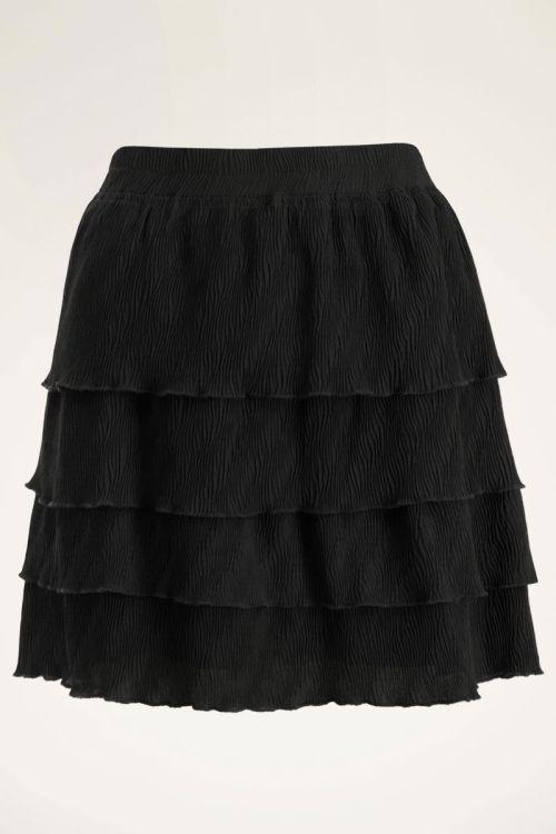 Zwarte rok laagjes met structuur | My Jewellery