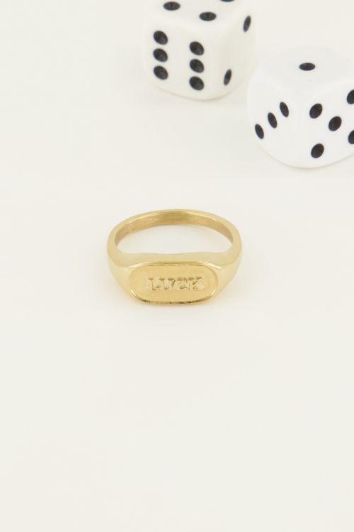 Ring luck   Trendy ring   My Jewellery