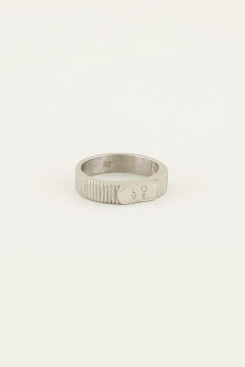 Ring love | Trendy ring | My Jewellery