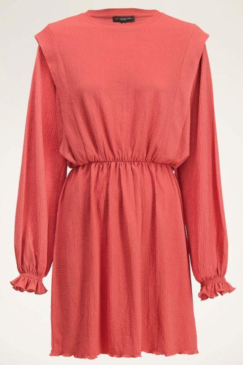 Rode jurk met schouderstuk | My Jewellery
