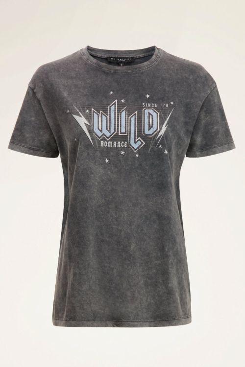 Lichtgrijs T-shirt wild | My Jewellery