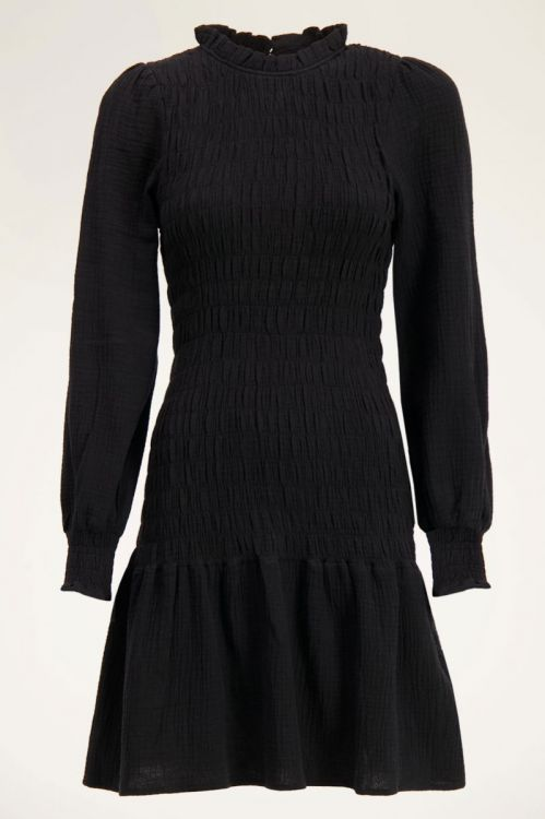 Zwarte jurk smock | My Jewellery