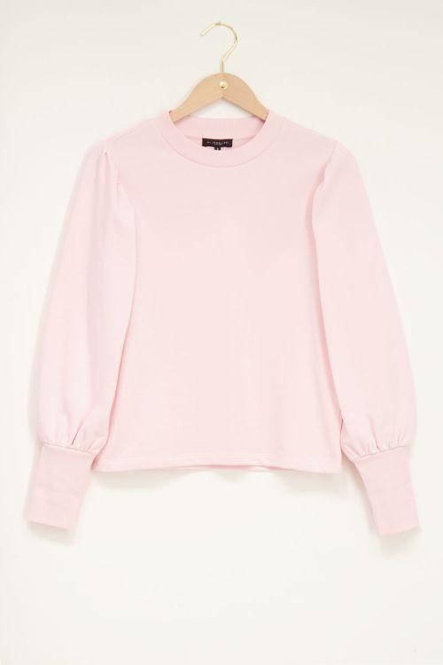 Roze sweater with high cuff | My Jewellery