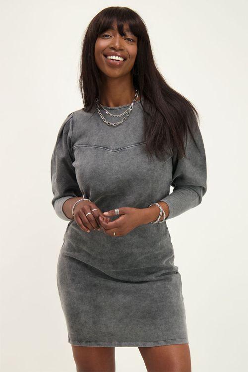 wash grey dress | My Jewellery