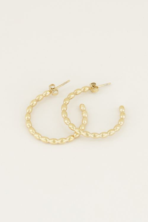 Large sphere earrings | Large earrings My Jewellery