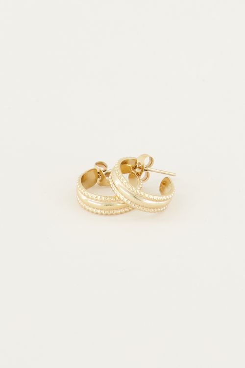 Oorhangers met patroon | Hippe oorbellen My jewellery