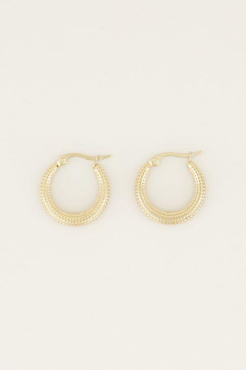 Braided earrings | Cute earrings My Jewellery