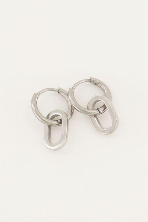 Oorringen open ovaal | Oorbellen | My Jewellery