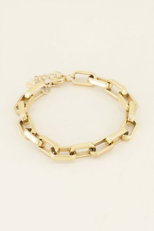 Grove schakelarmband kopen   My Jewellery