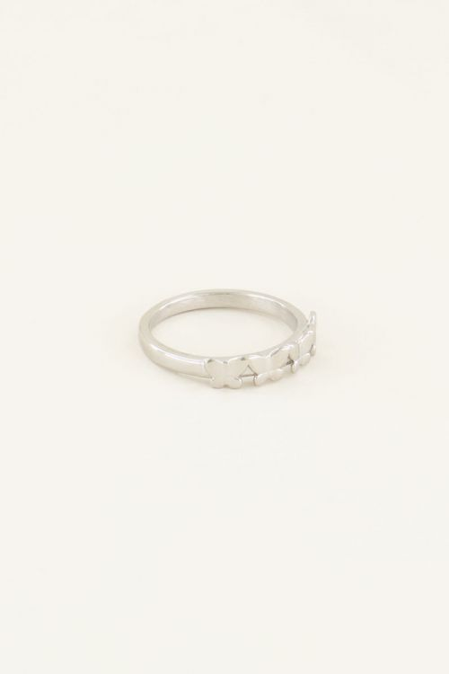 Ring met vier vlindertjes   My Jewellery