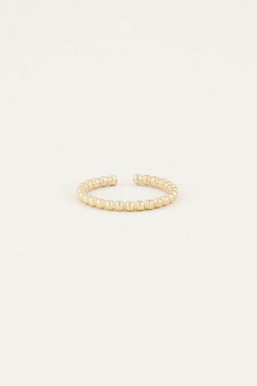 Ring bolletjes   Ring met bolletjes My jewellery