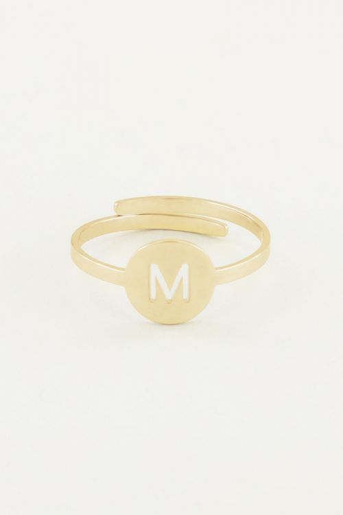 Ring with letter | Rings | My Jewellery