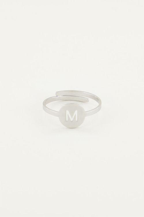 Ring met letter, ringen My Jewellery