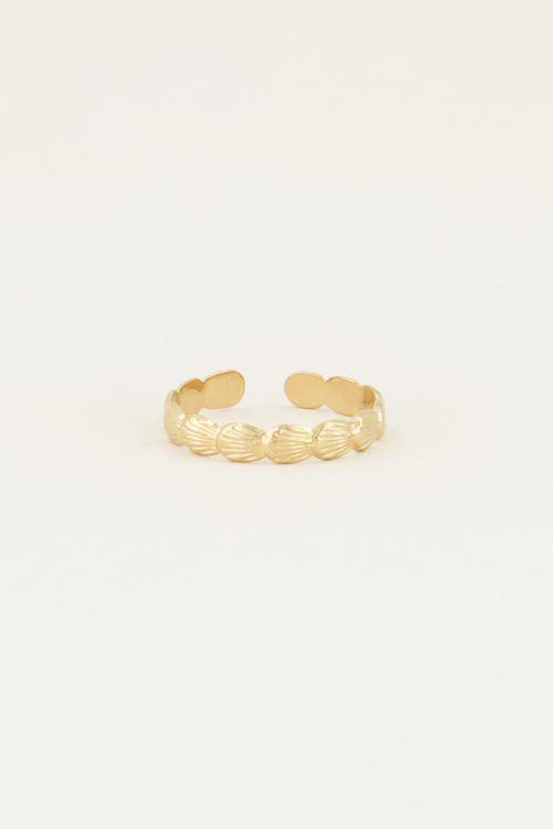 Schelpen ring | Ring met schelpen bij My Jewellery
