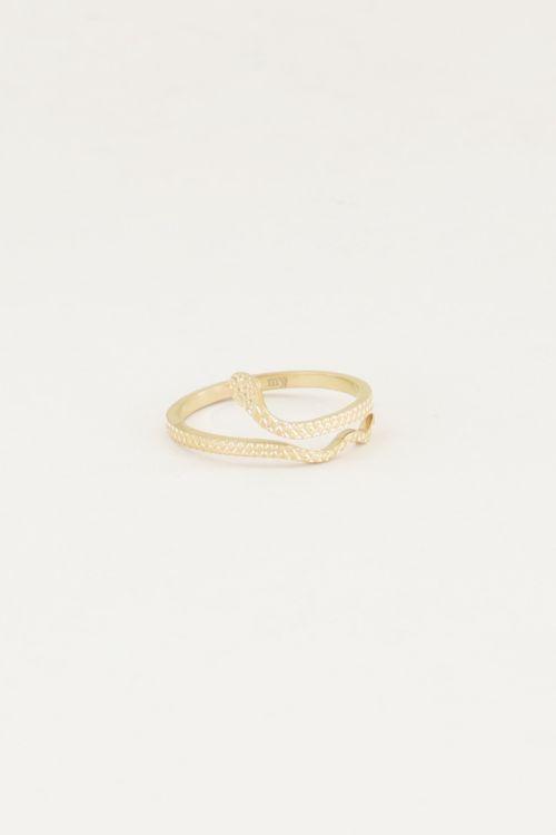 Ring slangetje, minimalistische ringen