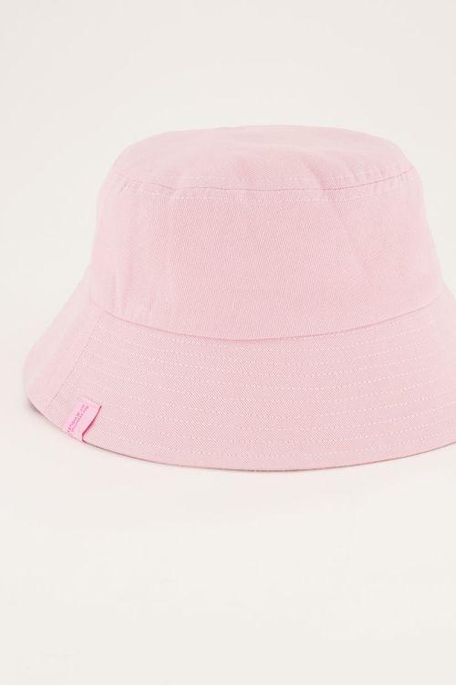 Roze bucket hat