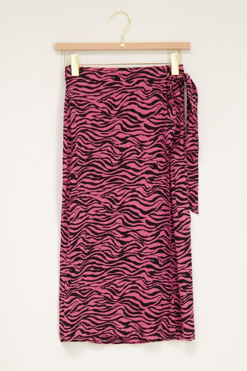 Roze rok met zebraprint   My Jewellery