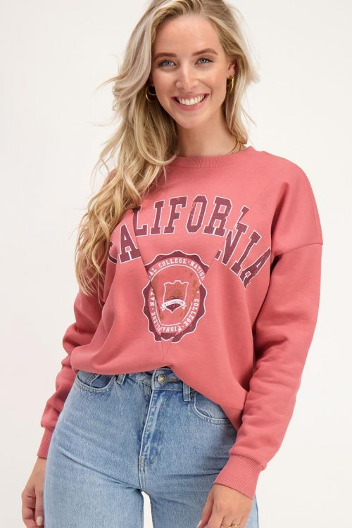 Roze sweater California   Truien   My Jewellery
