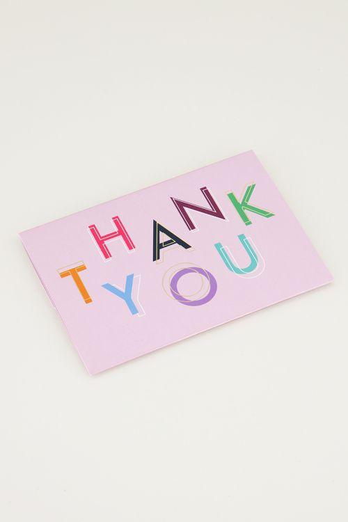 Giftcardholder Thank you, cadeaukaart