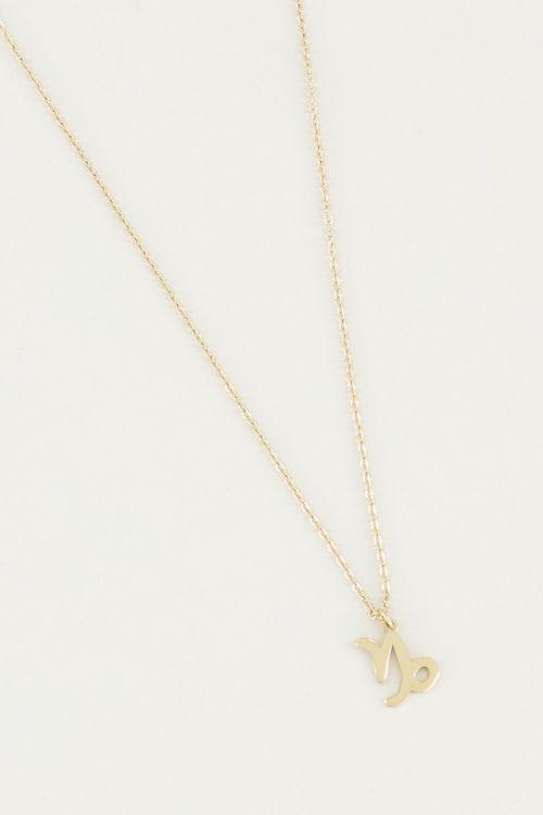 Ketting sterrenbeeld bedel, zodiac sign necklace