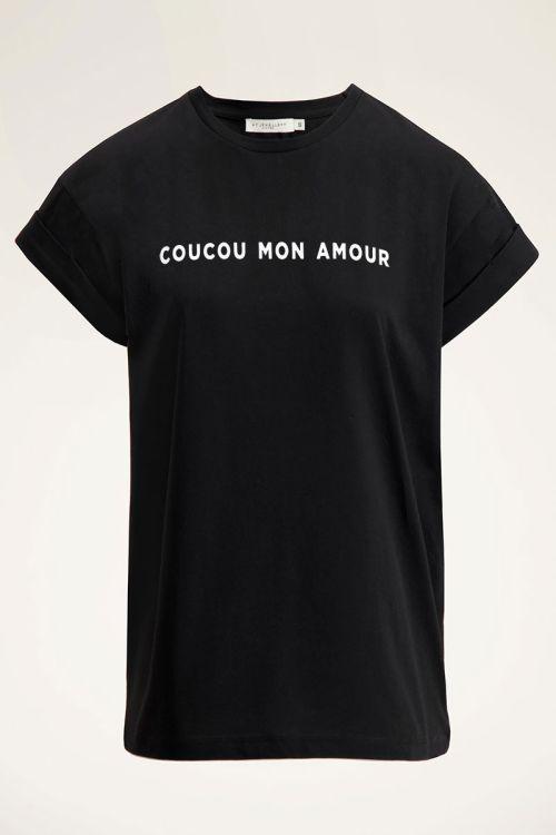 Zwart t-shirt | T-shirt met tekst | Basic t-shirt | My Jewellery