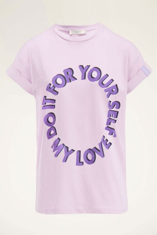 Lila shirt do it for yourself   My Jewellery