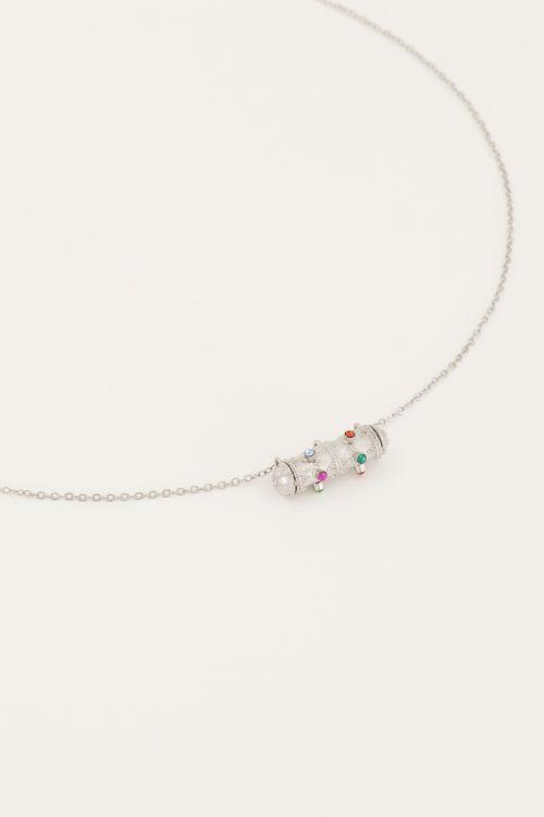 Vintage ketting kristal