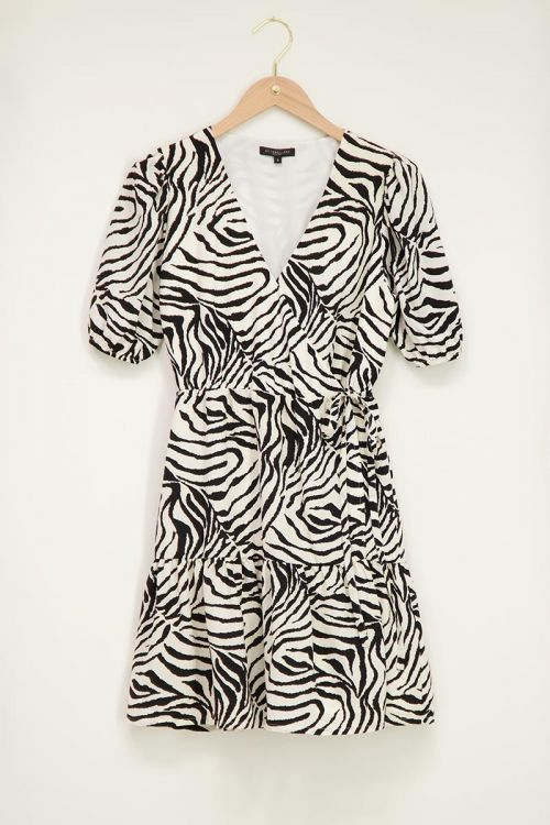 Zwart-wit jurkje met zebra