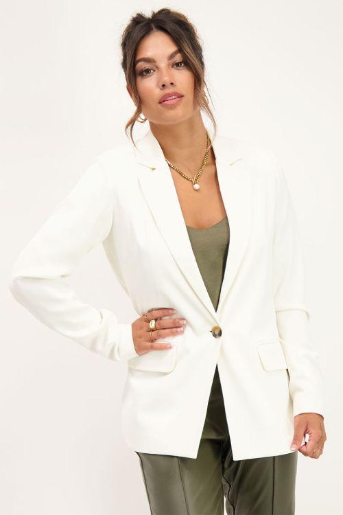Witte blazer | Blazers | My Jewellery