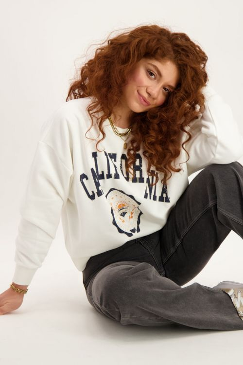 Witte sweater california
