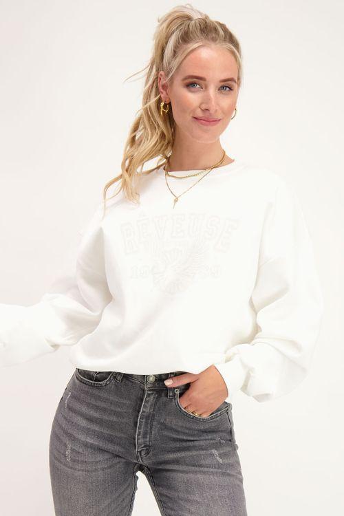 Witte sweater rebelle   Sweater   My Jewellery
