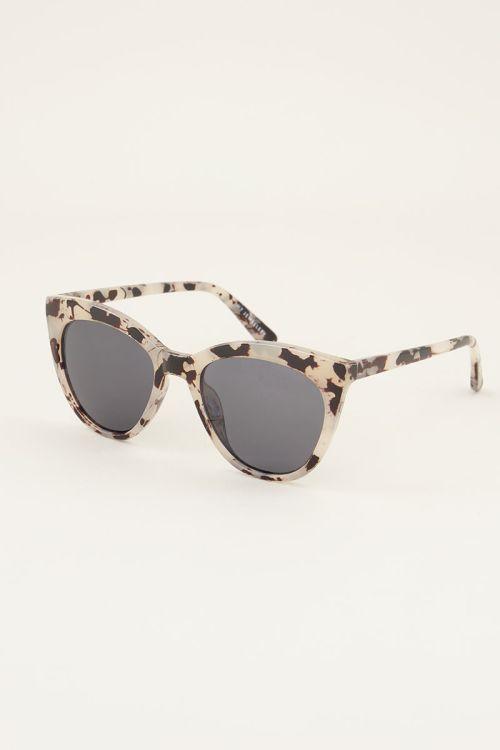 Zonnebril met panterprint | Panterprint zonnebril | My Jewellery