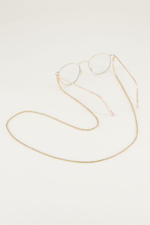 Zonnebrilkoordje gedraaid, gedraaide zonnebrilkoord