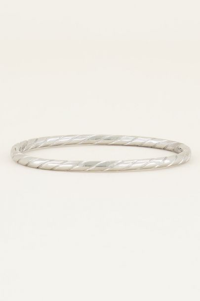 Bangle touwpatroon, bangle My jewellery