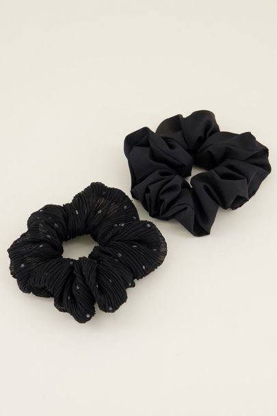 Scrunchie set| Zwarte scrunchie | My Jewellery