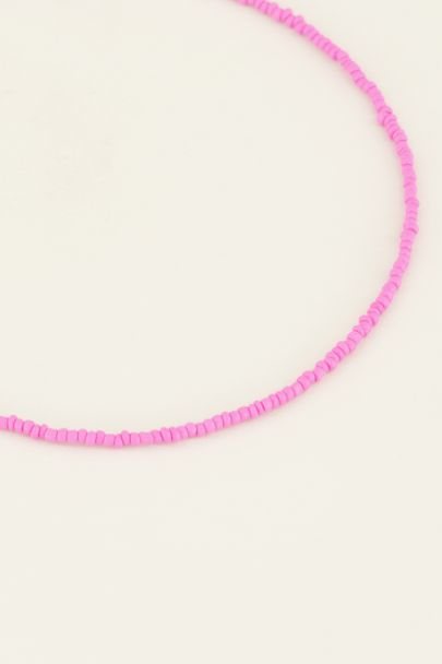 Moments kralen ketting roze |My Jewellery