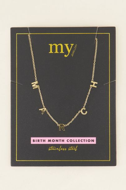 Ketting March | My Jewellery