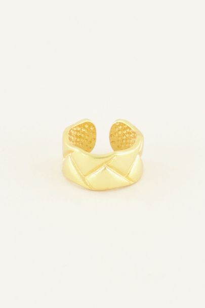 Ear cuff met patroon | My Jewellery