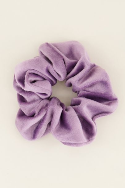 Paarse scrunchie velvet | My Jewellery