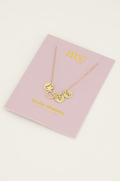 Ketting love rondjes | My Jewellery