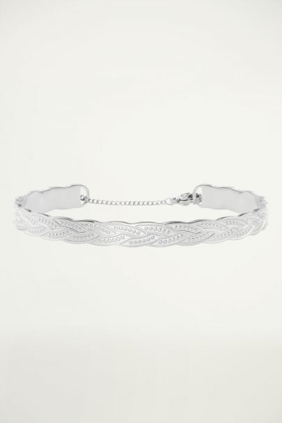 Bangle gevlochten patroon, slavenarmband
